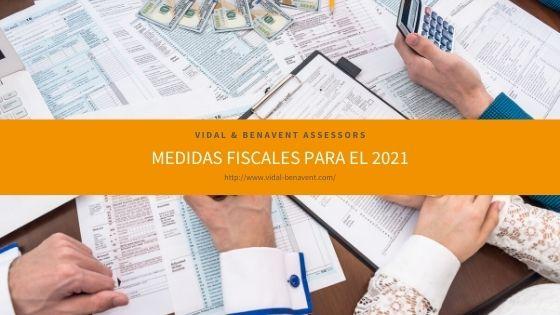 Medidas fiscales para el 2021